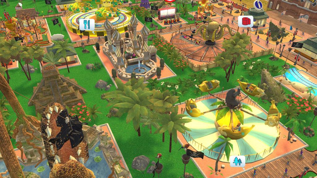 Rollercoaster Tycoon 3: Complete Edition: el parque de atracciones de tus sueños en Switch